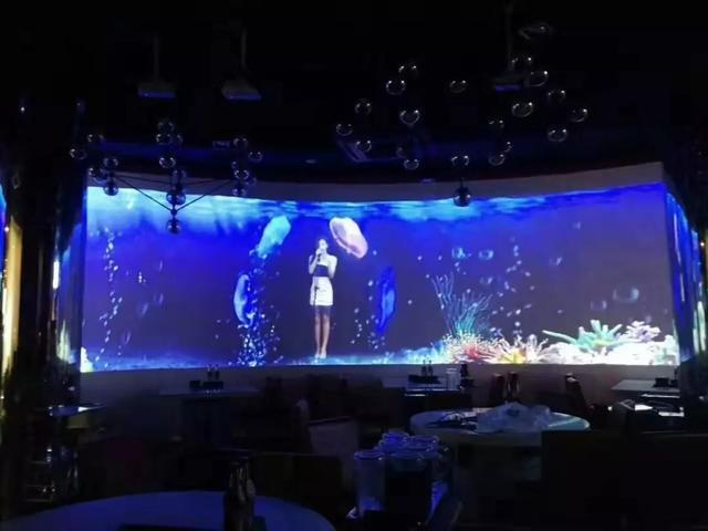 踏足石代5D智慧餐厅,梦幻星空让人陶醉