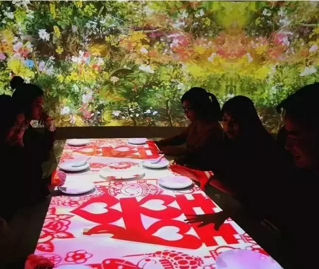 石代5D光影餐厅6大功能,打造2020新一代智慧餐厅