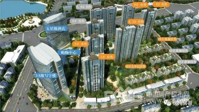 跨过故黄河,徐州中心商圈北移!再添四大综合体
